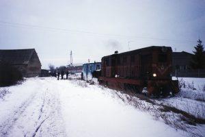 Część towarowa stacji Witkowo.