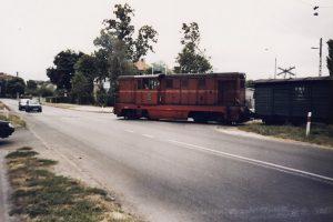 Wjazd na stację Witkowo.