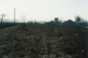 Osiek Mały, widok od strony Przystronia.