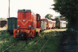 Skład pociągu gotowy do odjazdu.