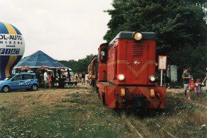Pociąg rozkładowy w Przybrodzinie.