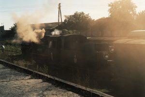 Spotkanie obu pociągów na stacji Witkowo.