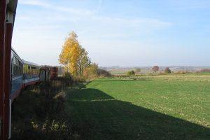 Szlak Nałęczów Wąskotorowy - Wąwolnica.