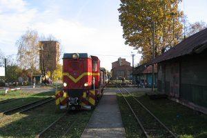 Pociąg w Karczmirskach.