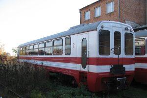 Zgromadzone wagony towarowe w Karczmirskach - wagon Bxhpi..