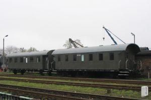 Skansen w Wolsztynie - wagony BCi.
