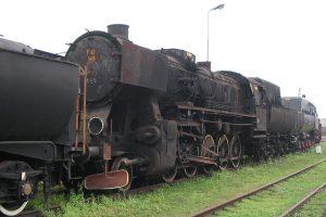 Skansen w Wolsztynie - Ty42-148. Aż trudno uwierzyć że ten parowóz jeszcze niedawno jeździł.