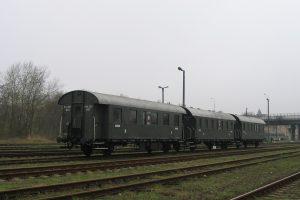 Wolsztyn - kolejne wagony BCi.