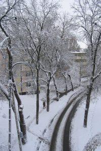 Okolice Wiaduktu Poniatowskiego.