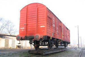 Krośniewice - Gbs na transporterze.