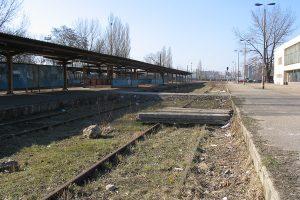 Lublin Północny - Opuszczone, odcięte od sieci tory.
