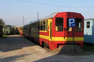 Przygotowane do odjazdu czynne wagony rumuńskie Bxhpi.