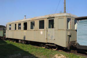 Salonka, dawny wagon motorowy.