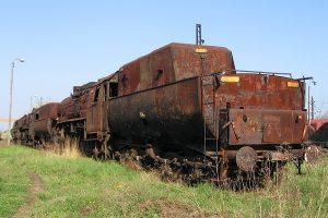 Parowóz Ty43-108.
