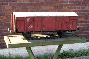 Model wagonu krytego 23K.