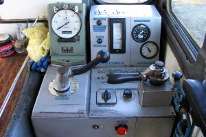 Pulpit lokomotywy Lxd2-343