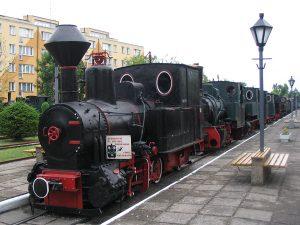 Parowóz Tyb 3417 pochodzący z Cukrowni Pelplin.