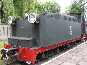 Tender parowozu Parowóz Pw53-1980.