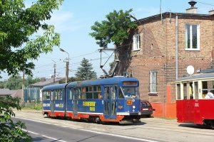 Zajezdnia Brus - wagon Tramwajów Podmiejskich #9.