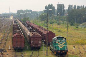 Konin. SM42-481 i wagony towarowe.