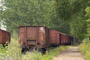 Porzucone wagony.