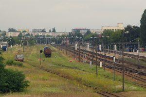 Panorama konińskiej stacji.