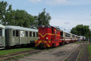 Rogów Towarowy Wąskotorowy - Skład pociągu.
