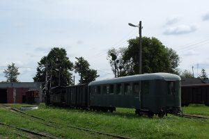 Rogów Towarowy Wąskotorowy - kolekcja zabytkowego taboru.