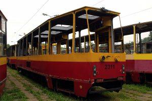 Wycofany wagon #2311.
