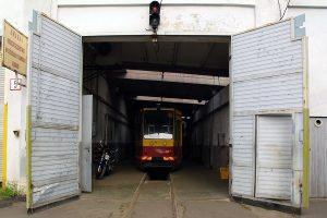 Przygotowany do obsługi linii P solowy wagon #3250.