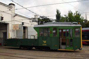 Techniczny wagon typu N #32106.