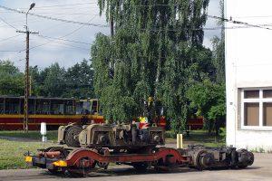 Wózki do wagonów typu 805Na.