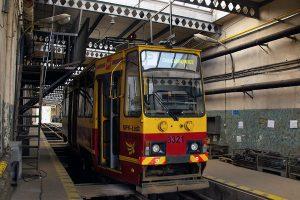 Przygotowany do obsługi linii P solowy wagon #3321.