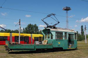 Techniczny wagon typu 5N #12050.