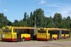 Odstawione autobusy Volvo B10LA.