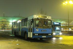 Katowice Dworzec PKP - Jelcz M120 #21.