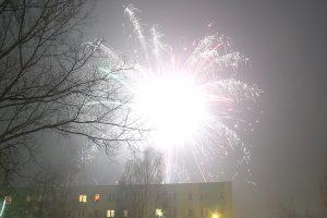 Zabrze Mikulczyce Pętla - powitanie Nowego Roku.