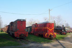 Rogów Wąskotorowy Towarowy -  Lxd2-340, Lxd2-264 i Px48-1783.