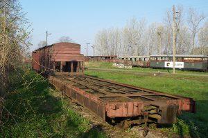 Rogów Wąskotorowy Towarowy - platforma Pddxh.