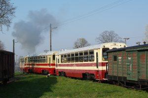 Rogów Wąskotorowy Towarowy - wagony rumuńskie.
