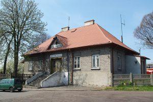 Dworzec wąskotorowy w Rawie Mazowieckiej.