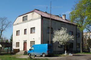 Biała Rawska - dworzec wąskotorowy.