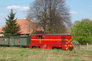 Rawa Mazowiecka - pociąg z Białej Rawskiej.