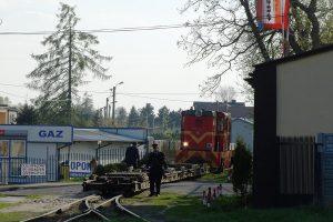 Rawa Mazowiecka - Lxd2-265 i transportery.