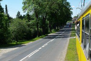 W drodze do Lutomierska.