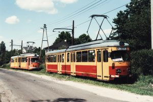 Imprezowe wagony w Kazimierzu.
