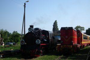 Obie dzisiejsze lokomotywy.