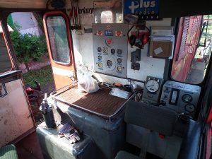 Pilpit lokomotywy Lxd2-343.