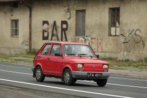 Luźmierz - Fiat 126el.