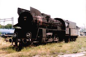 Parowóz Ol49-69.